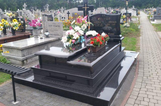 przykładowe realizacje w kamieniarstwie cmentarnym i budowlanym